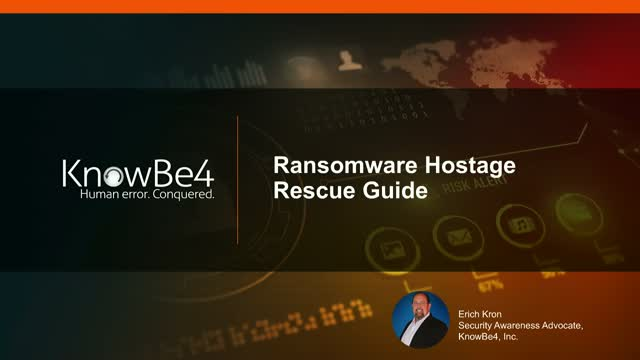 Ransomware Hostage Rescue Guide