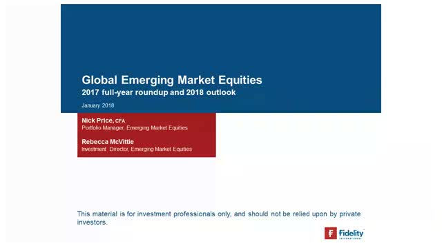 The ascent of emerging markets