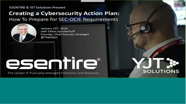 Creating a Cybersecurity Action Plan
