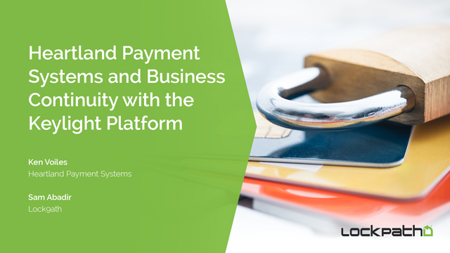 Heartland Payment Systems and Business Continuity with the Keylight Platform