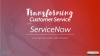 Transforming Customer Service with ServiceNow: A Midwest Lunch & Learn
