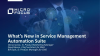 What's New in IT Service Management Automation Suite