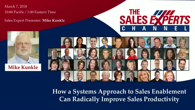 How a Systems Approach to Sales Enablement Radically Improves Sales Productivity