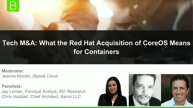 Tech M&A: What the Red Hat Acquisition of CoreOS Means for Containers