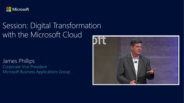 Digital Transformation with the Microsoft Cloud