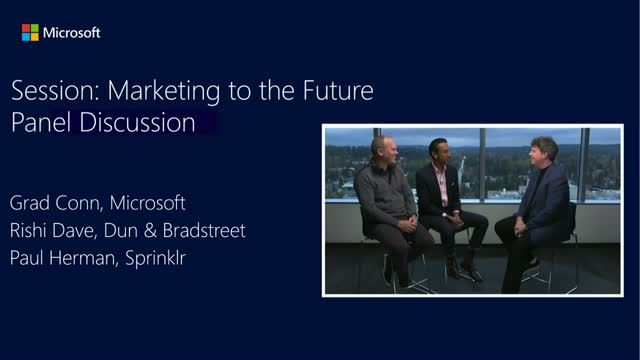 Marketing to the Future: Roadmap to Digital Transformation [Panel Discussion]
