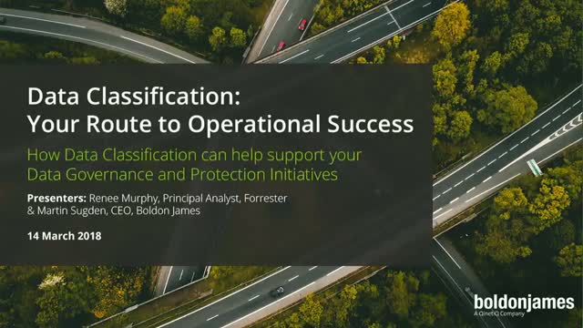 Data Classification: Your Route to Operational Success
