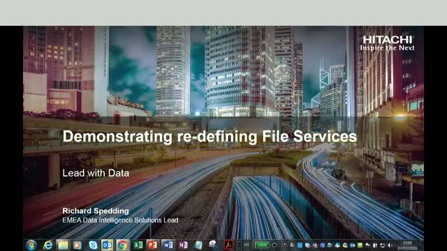 Lead with Data - Demonstrating Re-defining File Services