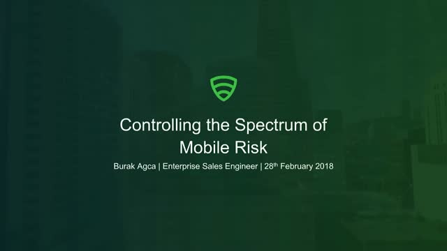 What are the full spectrum of mobile risks in 2018?