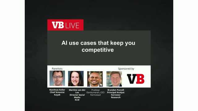 The AI use cases that keep you competitive