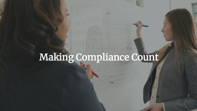 Making Compliance Count