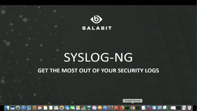 Using syslog-ng's powerful patternDB for advanced parsing of your log files