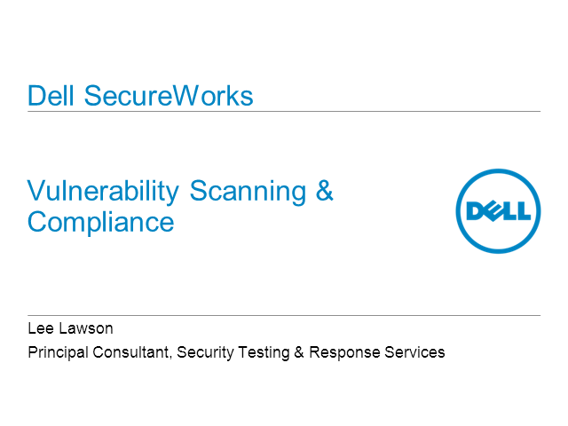 Vulnerability Scanning and Compliance