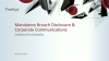 Mandatory Breach Disclosure and your Corporate Communications Strategy