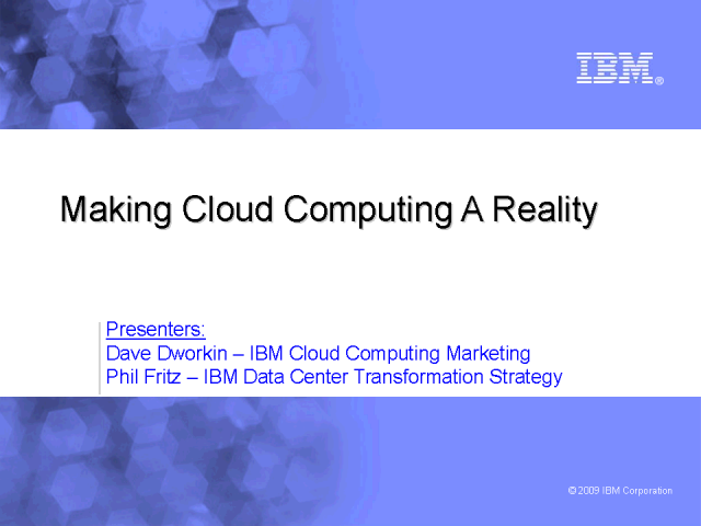 Cloud:  Innovation that drives IT and operations efficiencies