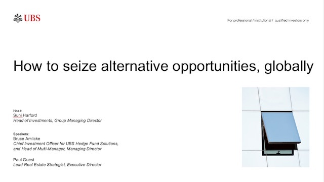 How to seize alternative opportunities, globally