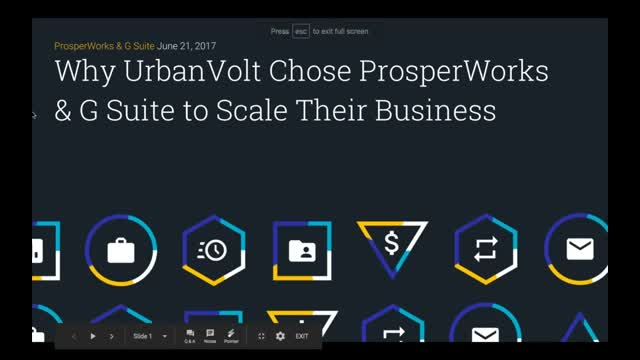Why UrbanVolt Scaled their Business with G Suite & ProsperWorks