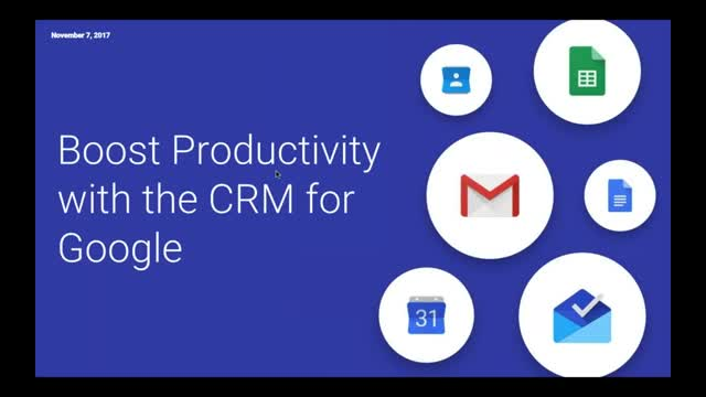 Boost Productivity with the CRM for Google