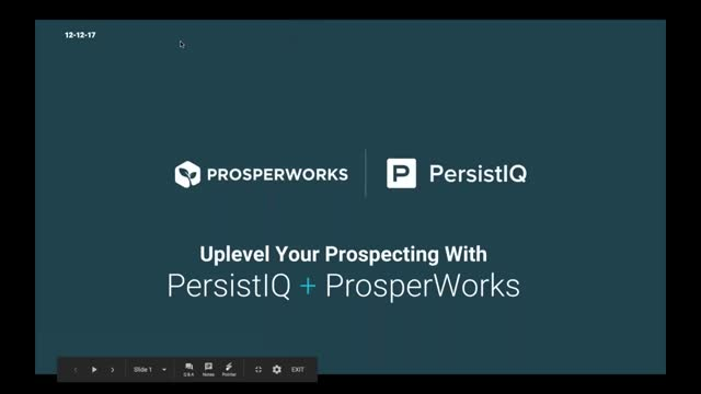 Uplevel Your Prospecting With PersistIQ and ProsperWorks