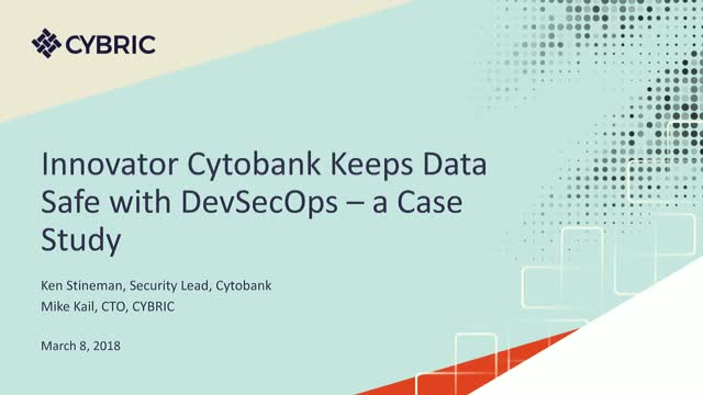 Innovator Cytobank Keeps Data Safe with DevSecOps: a Case Study