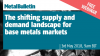 The shifting supply and demand landscape for base metals markets