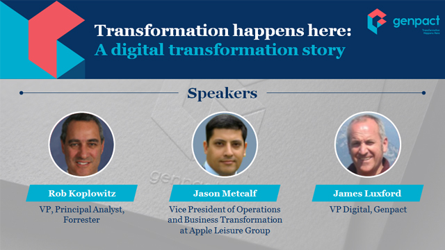 Transformation Happens Here: A Digital Process Automation Story