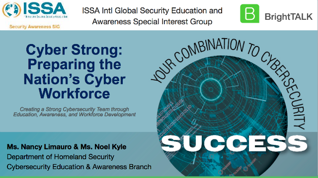 Cyber Strong: Preparing the Nation's Cyber Workforce