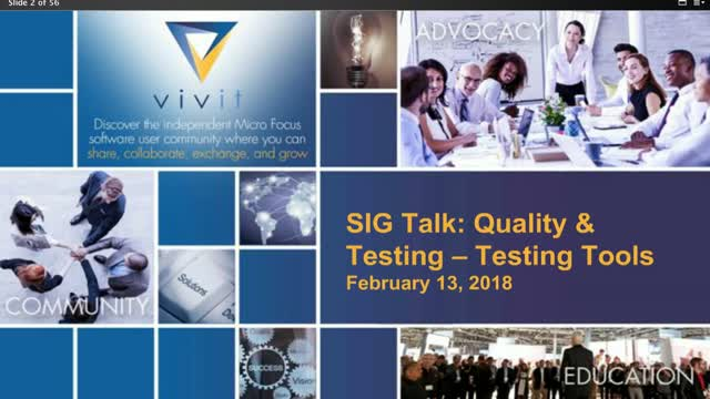 Quality & Testing SIG Talk Series: Testing Tools [Complete Edition]