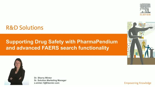 Supporting Drug Safety with PharmaPendium and advanced FAERS searching