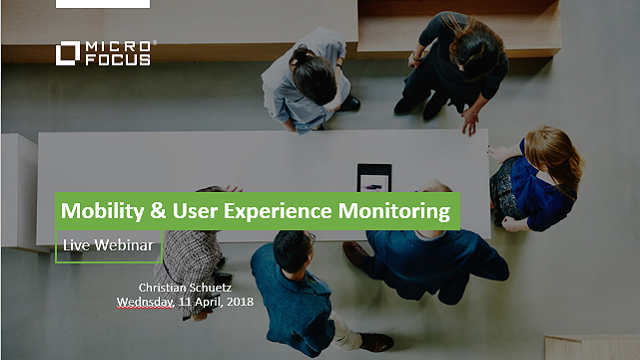 Mobility & User Experience Monitoring