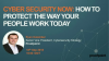 Cybersecurity Now: A Guide to Building a People-Centric Strategy