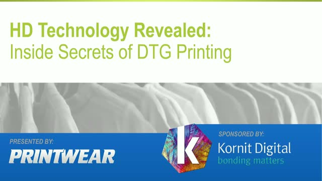 HD Technology Revealed: Inside Secrets of DTG Printing