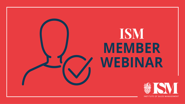 ISM Webinar: How to Turn an A-Player into a B-player in Under 4 Weeks