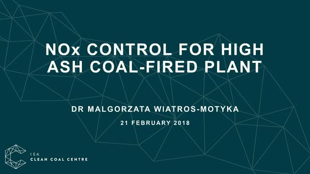 NOx control for high ash coal-fired plant