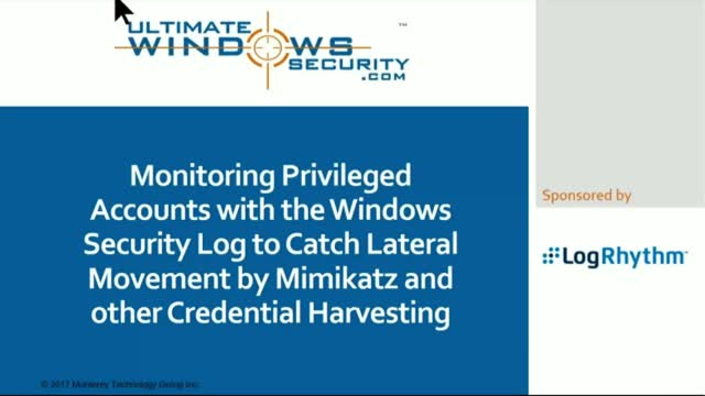 Monitoring Privileged Accounts with Windows Security Log