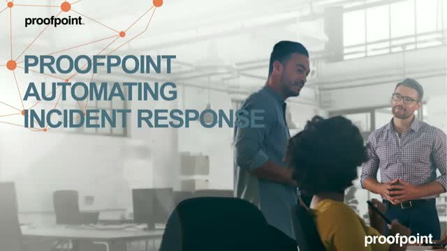 See it live - Proofpoint Incident Response