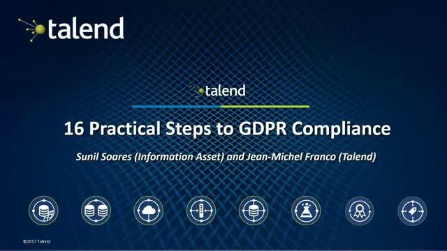 Practical Steps to GDPR Compliance