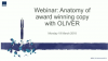 Webinar: Anatomy of award winning copy with OLIVER