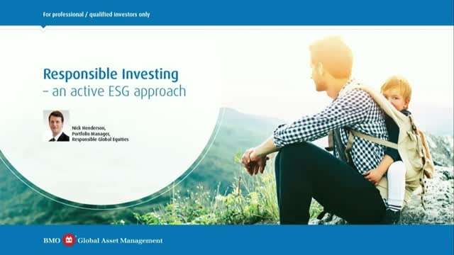 Responsible Investing - an active ESG approach