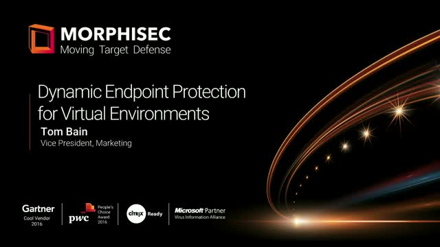 Dynamic Endpoint Protection for Virtual Environments