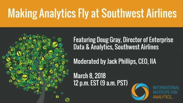 Making Analytics Fly at Southwest Airlines