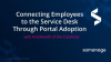 Connect Employees to the Service Desk Through Service Portal Adoption
