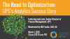 The Road to Optimization - UPS's Analytics Success Story