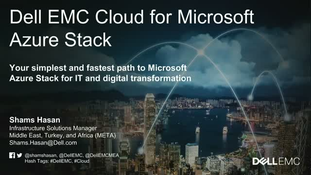 Dell EMC Cloud for Microsoft Azure Stack