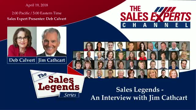 Sales Legends Series - An Interview with Jim Cathcart