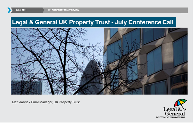 UK Property Trust webcast