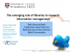 The emerging role of libraries in research information management