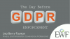 The Day Before GDPR Enforcement