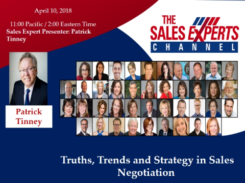 Truths, Trends and Strategy in Sales Negotiation