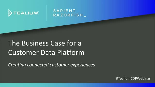 How To Create Connected Customer Experiences With A Customer Data Platform